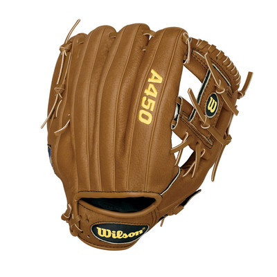 "Wilson A450 10.75"" Right-Handed Baseball Glove 