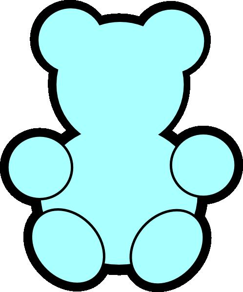 Teddy bear outline printable clipart best - Free teddy bear pics ...