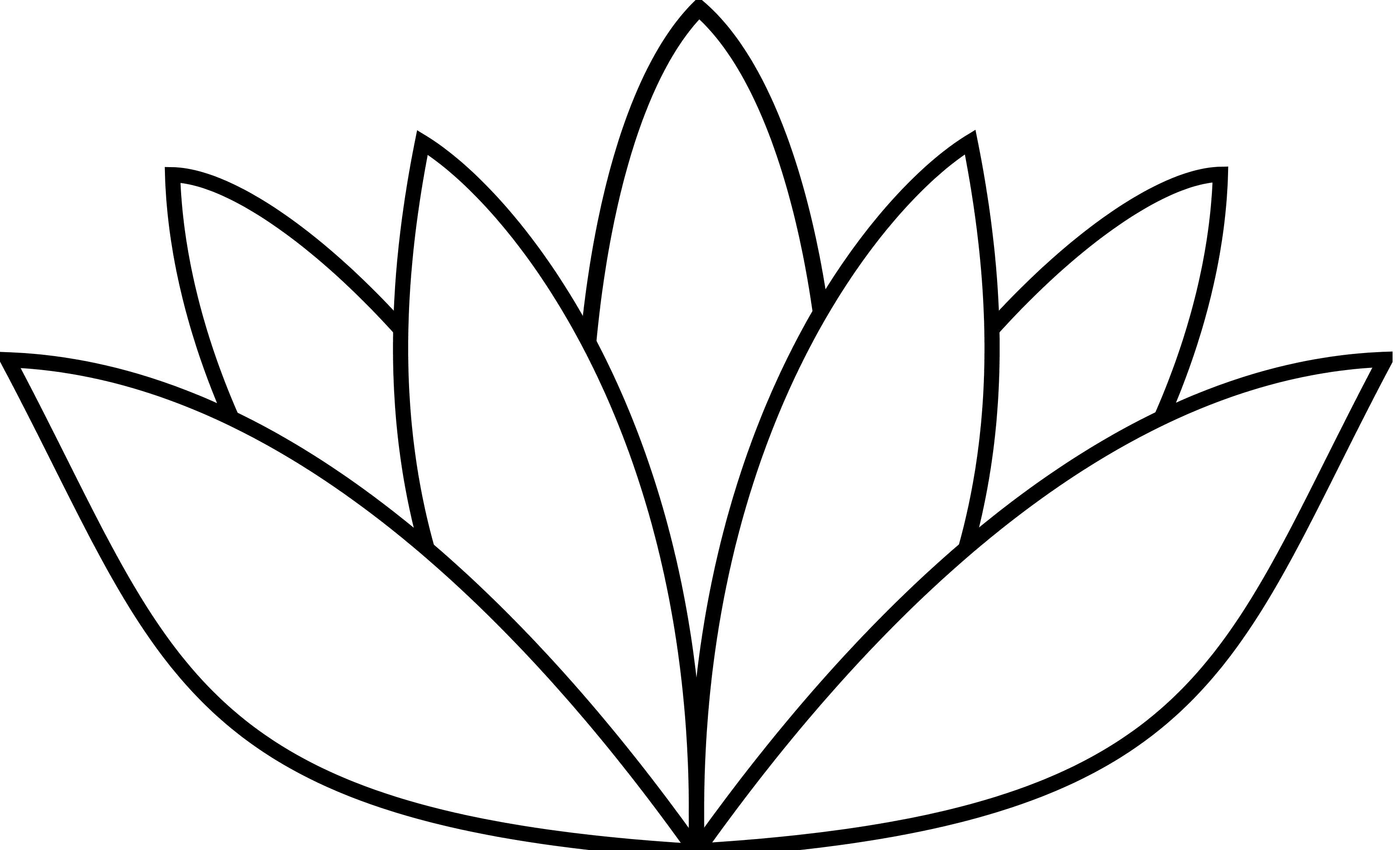 Flower Line Drawing Templates : Lotus flower vector clipart best