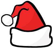 Christmas Santa Hat Clip Art Free