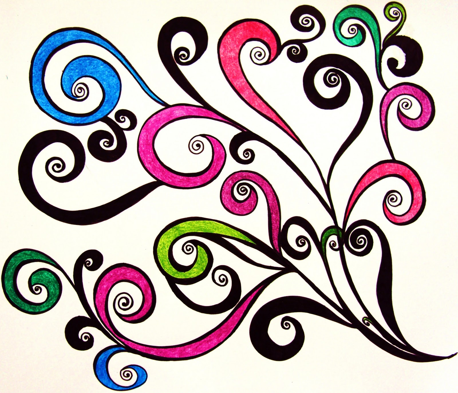 Cool swirl designs clipart best for Cool designs