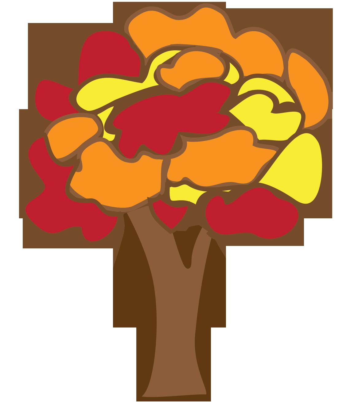 autumn tree clipart - photo #35