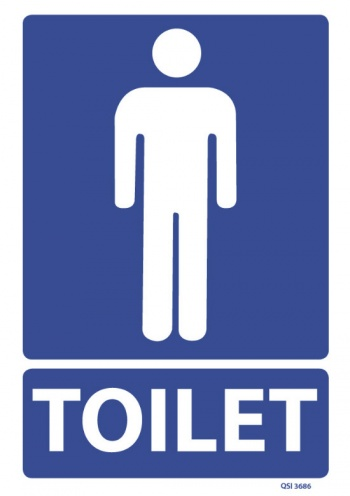 Male Toilet Signs - ClipArt Best