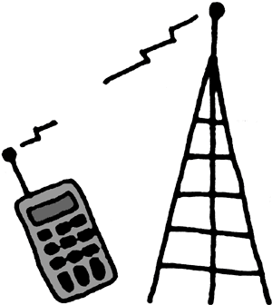 Animated Cell Phone Tower - ClipArt Best