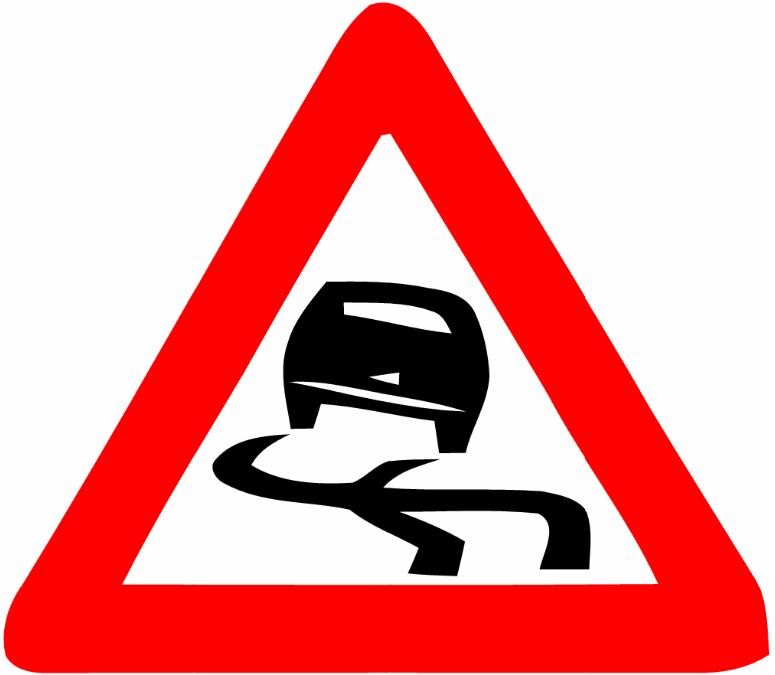 Danger Road Signs - ClipArt Best