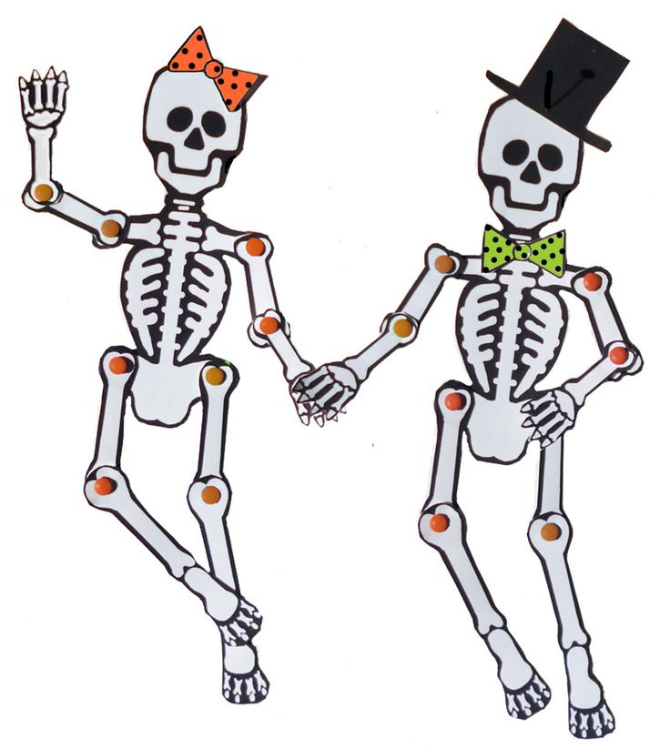Printable Skeleton Template Cut Out Clipart Best