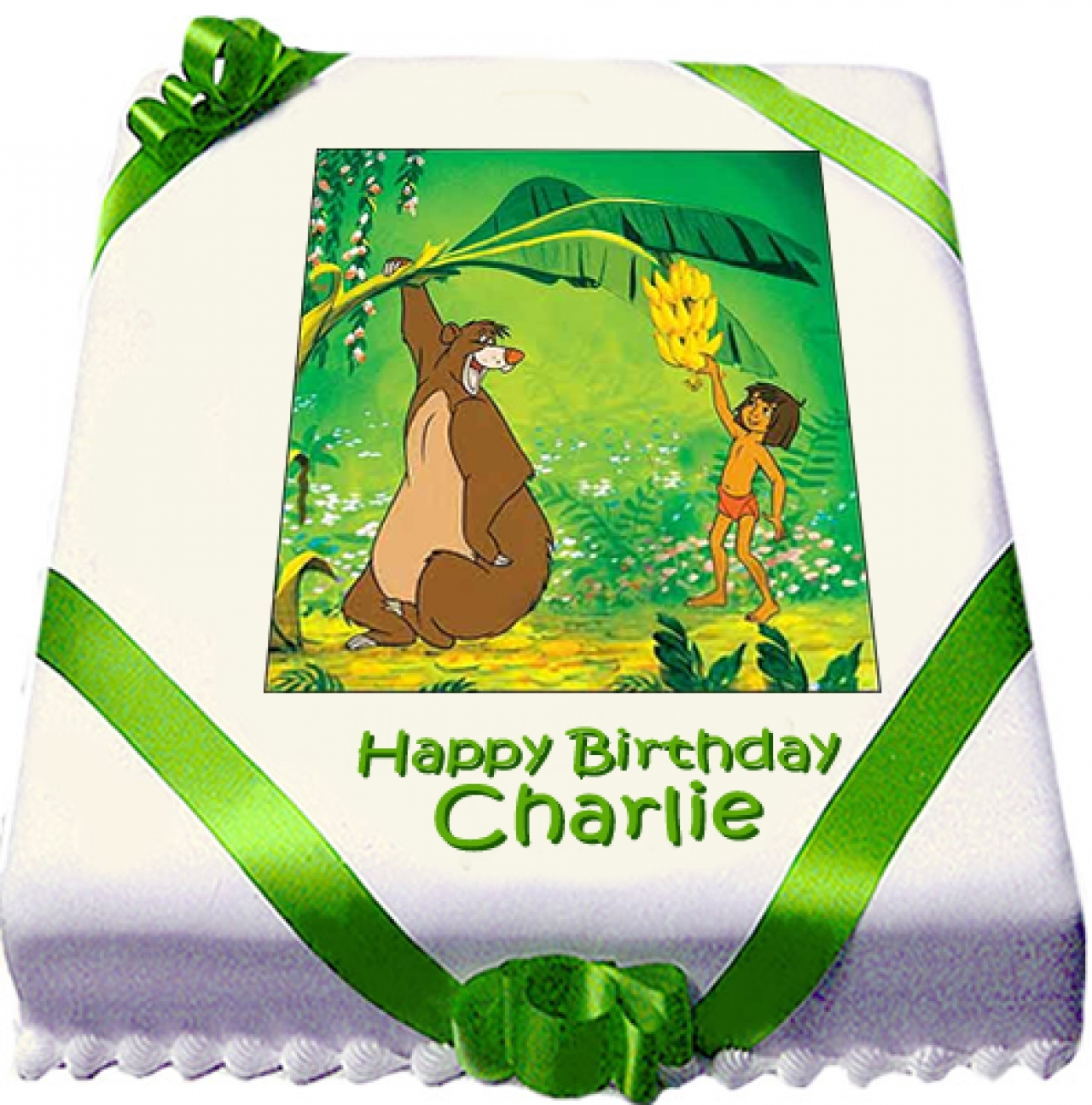 Jungle Book Birthday Cakes Delivered Next Day Order Jungle