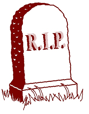 Rip Tombstone - ClipArt Best