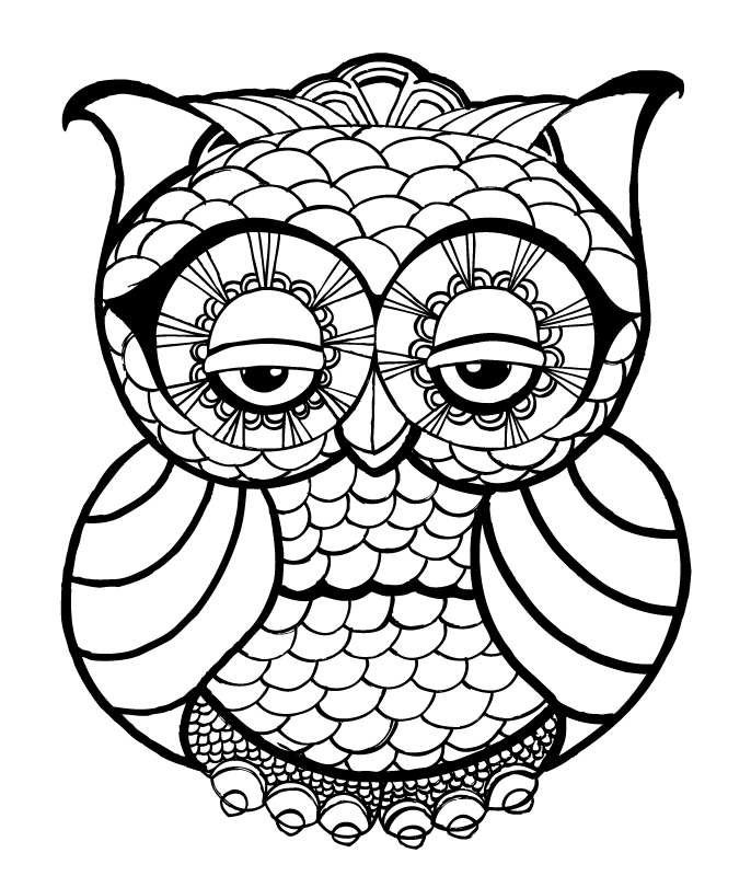 face coloring pages adults - photo#47
