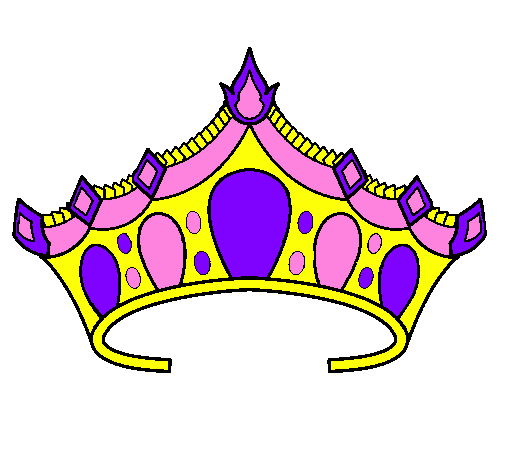 Princess Tiara Coloring Page - ClipArt Best