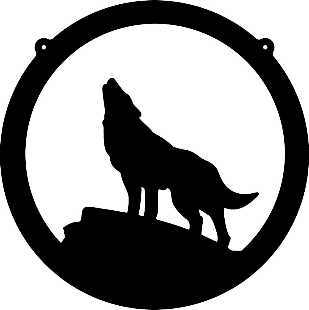 Cartoon Wolf Logo
