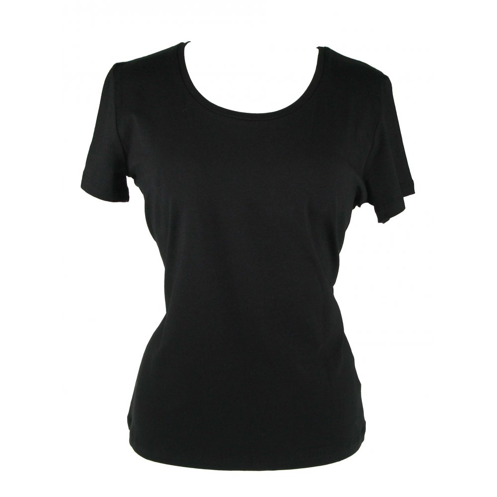 Black T Shirt For Ladies | Is Shirt