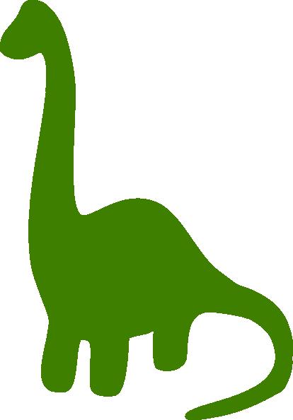 dinosaur clip art outline - photo #40