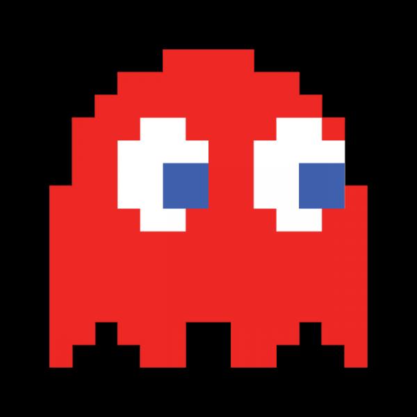 Original Pacman Ghost - ClipArt Best