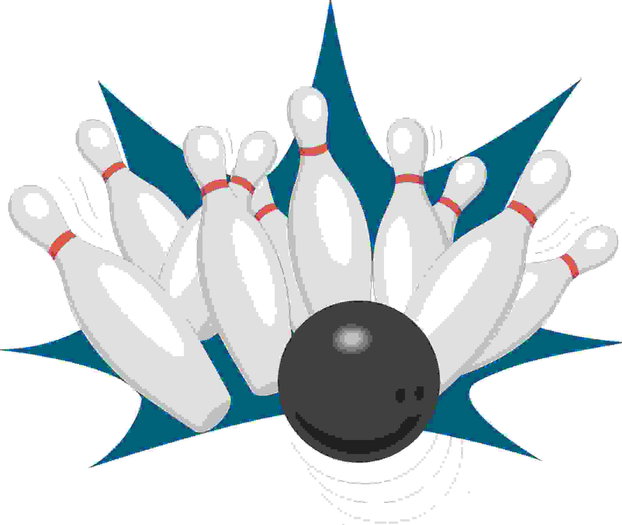 Bowling Party Games - by a Professional Party Planner Bowling balls and pins pictures