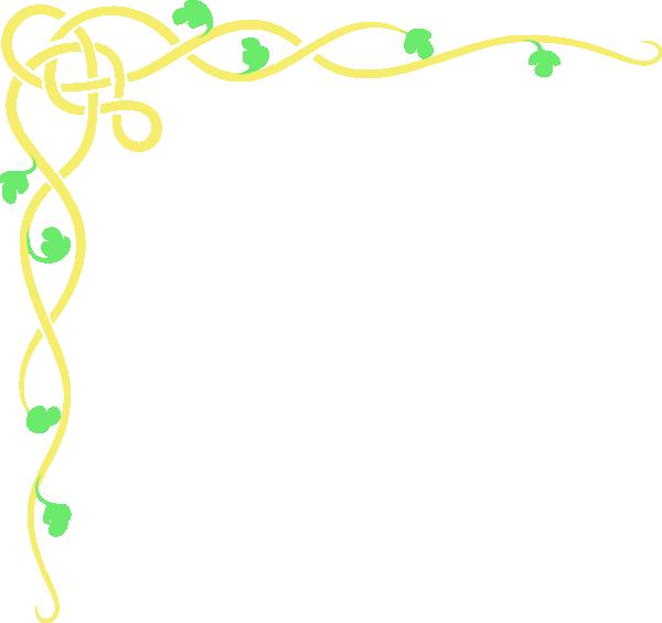 Flower Border Design Png Simple Flower Border Designs