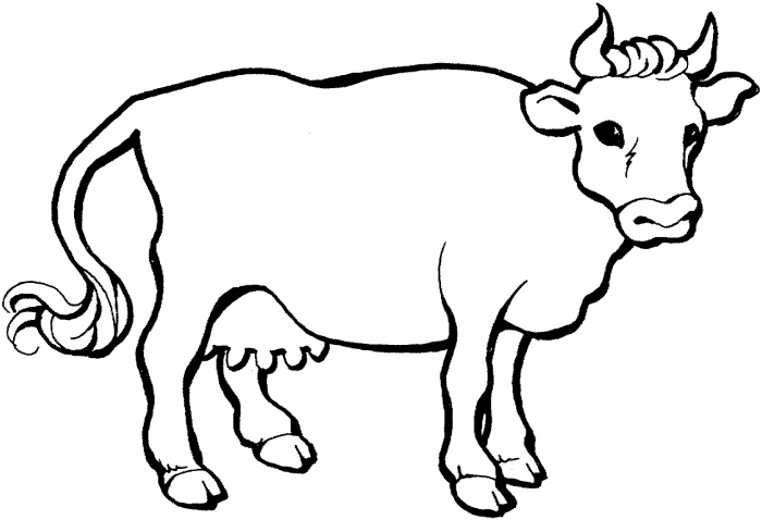 Two Cows coloring page | Super Coloring - ClipArt Best ...