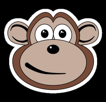 Cartoon Monkey Face - ClipArt Best