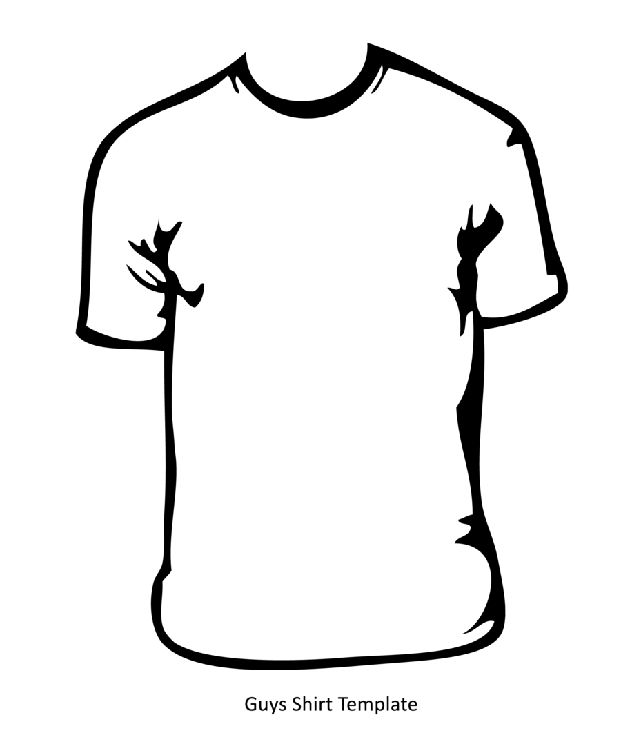 Line Art T Shirt Design : T shirt line drawing outline clipart best