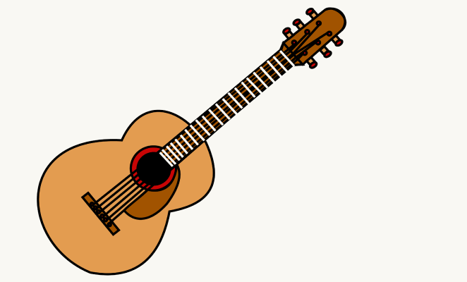 Guitar Drawing - ClipArt Best