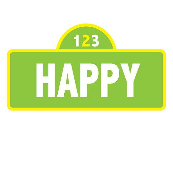 Sesame Street Sign Template - ClipArt Best
