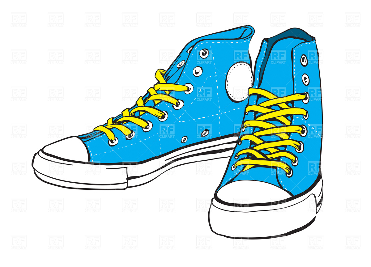 Sneakers Clip Art Free - ClipArt Best