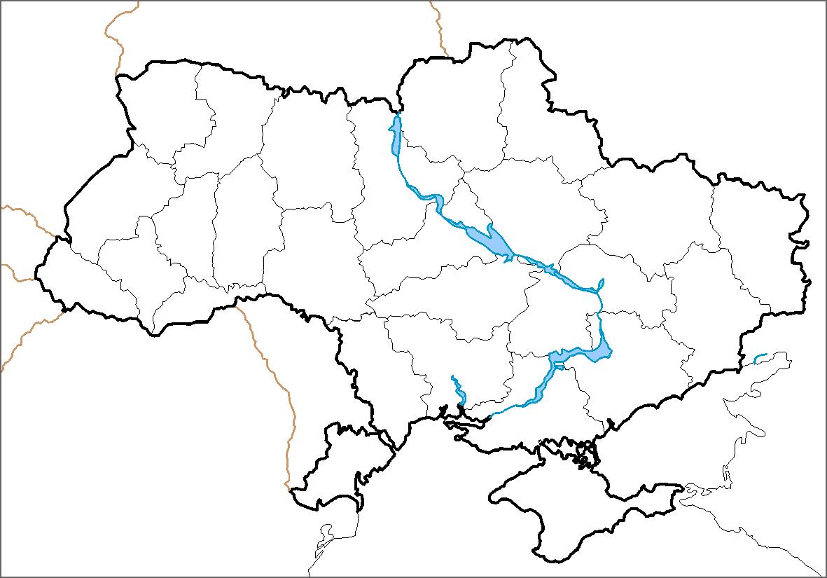 Ukraine Blank Map ClipArt Best – Blank Road Map