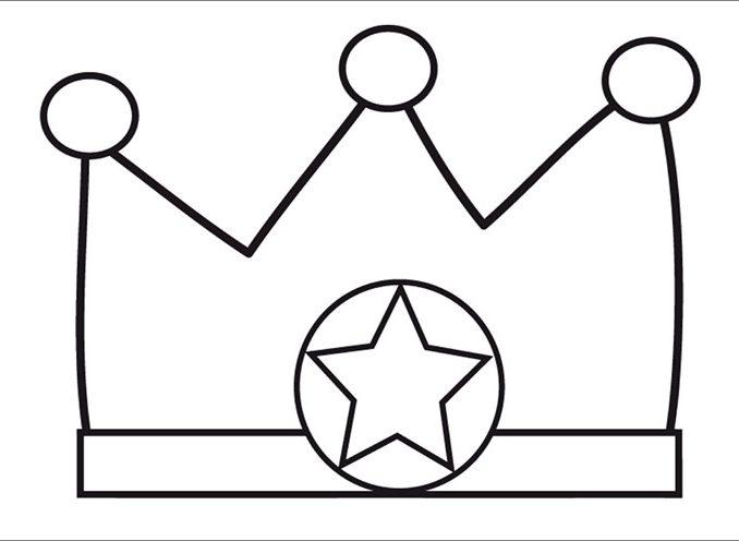 Color Page Crown