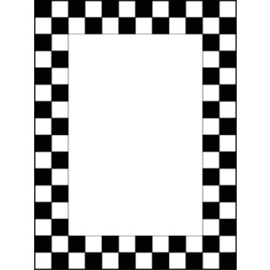 Checkered Banner Pic Clipart Best