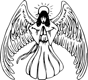 Black And White Angel Pictures - ClipArt Best
