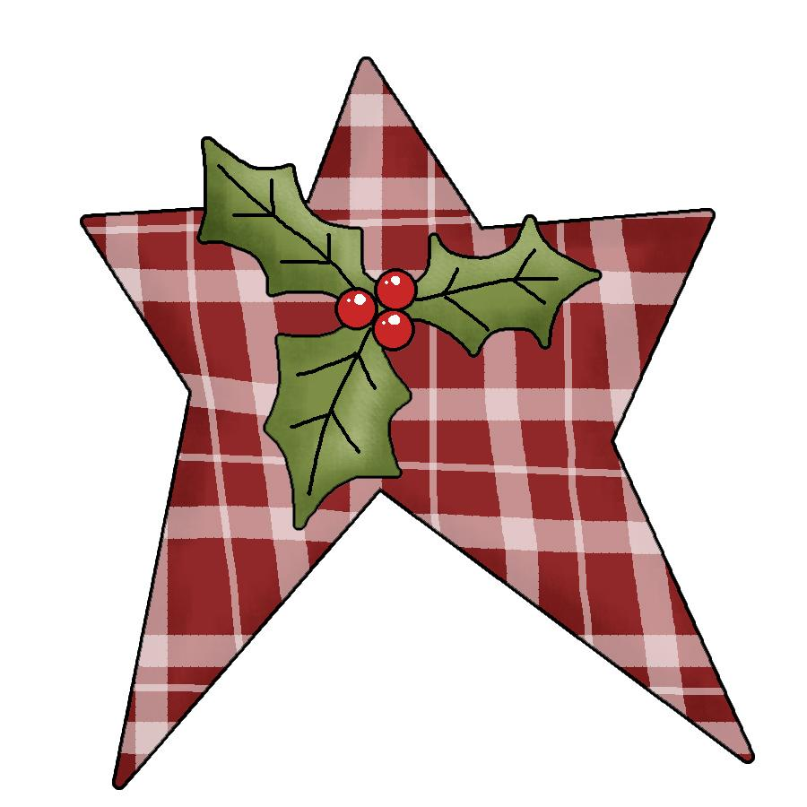Country Christmas Clip Art - ClipArt Best
