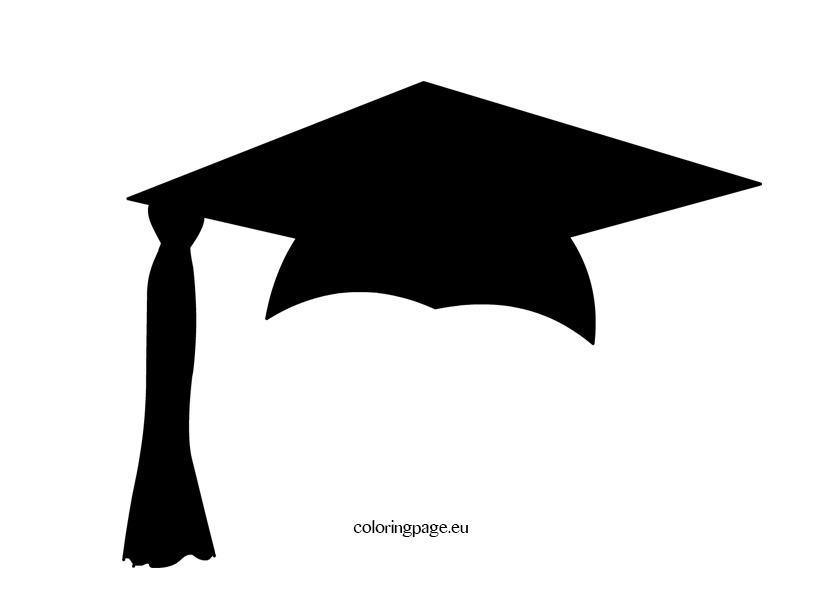 graduation mortar board template - graduation cap template clipart best