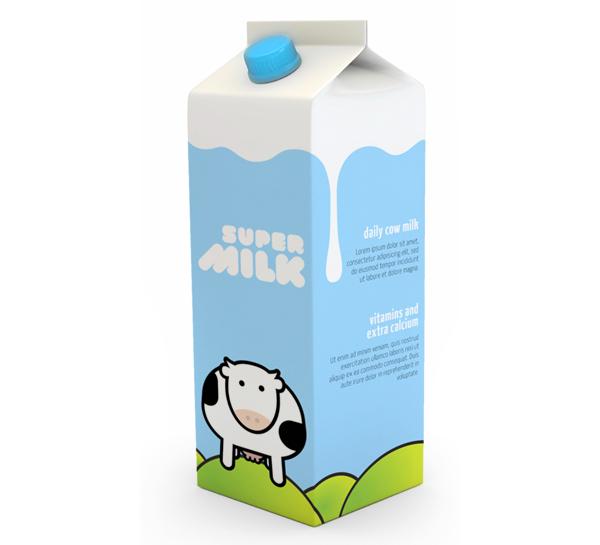 Milk Carton Microsoft Clipart