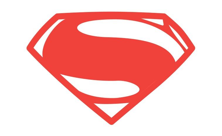 Awesome superman logo vector pics