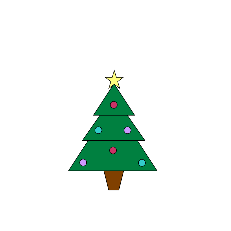 Christmas Tree Graphics - ClipArt Best