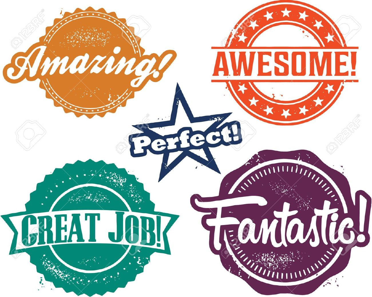 25993602-Awesome-stamp-Stock-Vector-awesome-job – On A ... |Awesome Job Clip Art