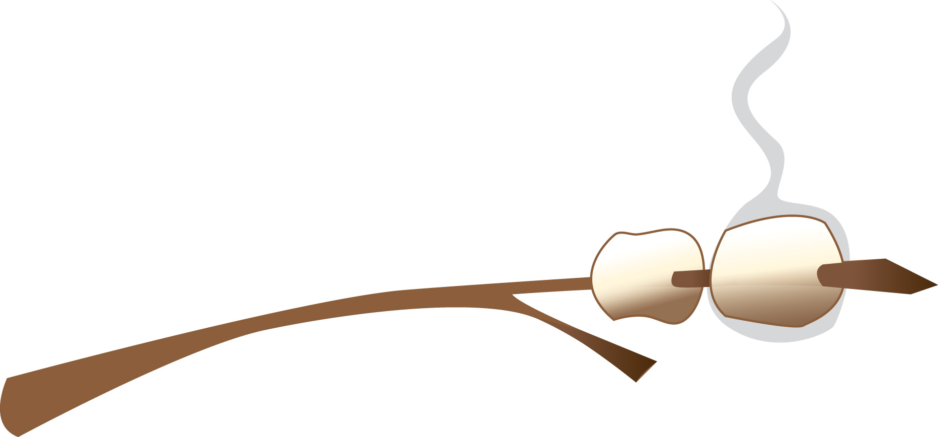 Marshmallow cute smore clipart