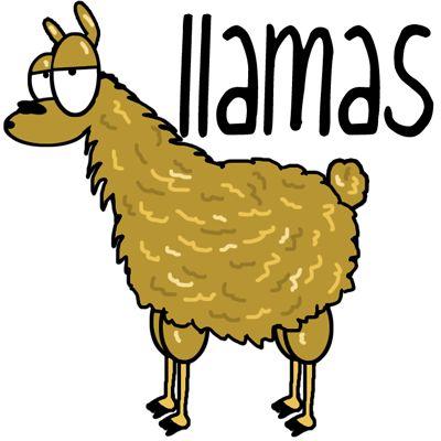 Cartoon Llama Pictures Same - ClipArt Best