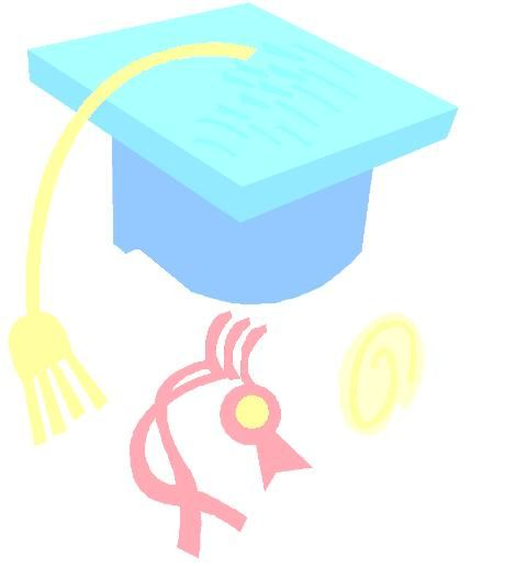 Cute Graduation Background - ClipArt Best