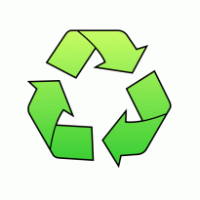 Recycling symbol printable clipart best for Recycle stencil printable