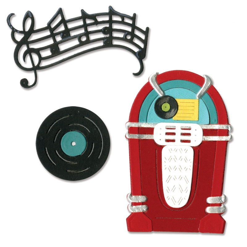 1950s Jukebox Clipart
