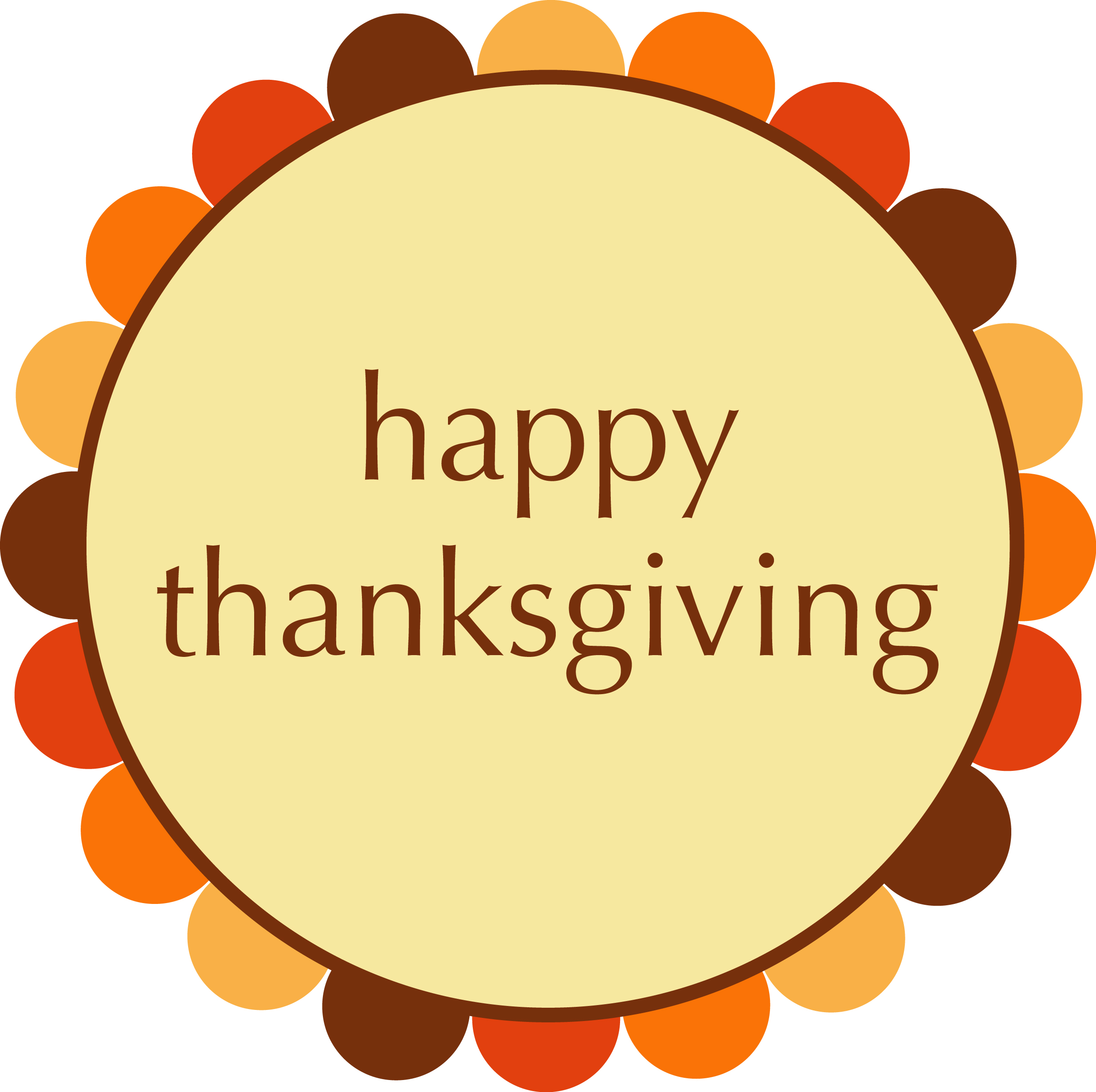 happy thanksgiving clip art - photo #33