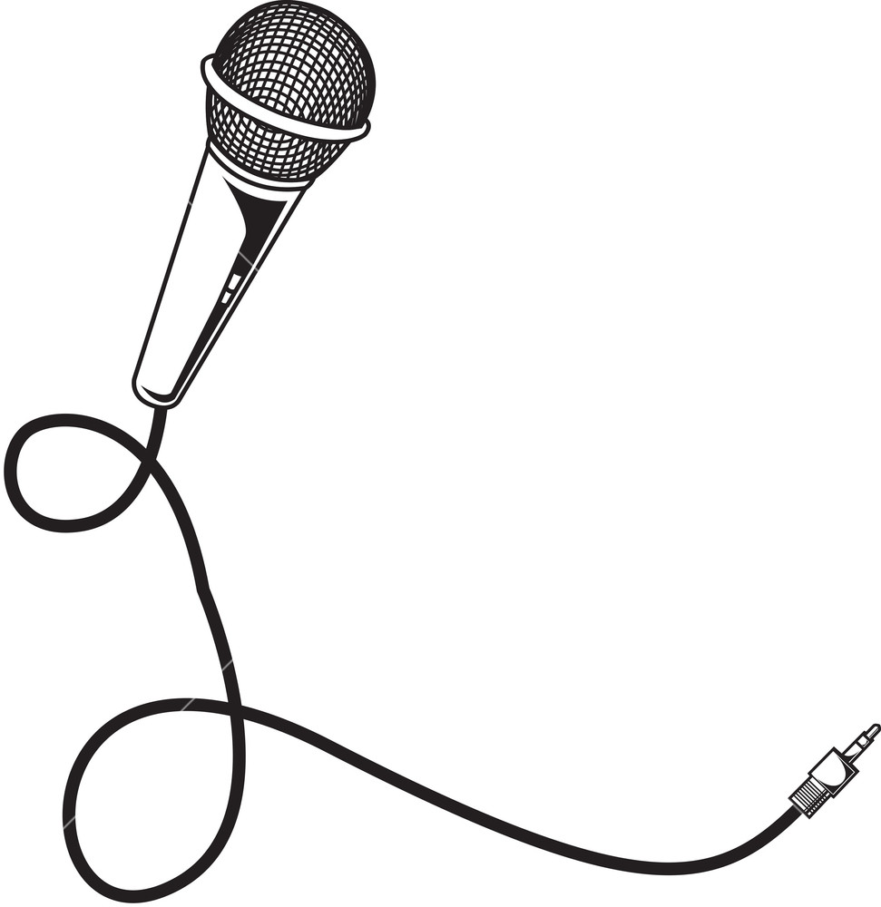 microphone vector art clipart best