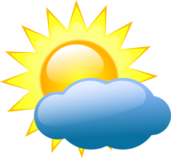 Cloudy Weather Clipart