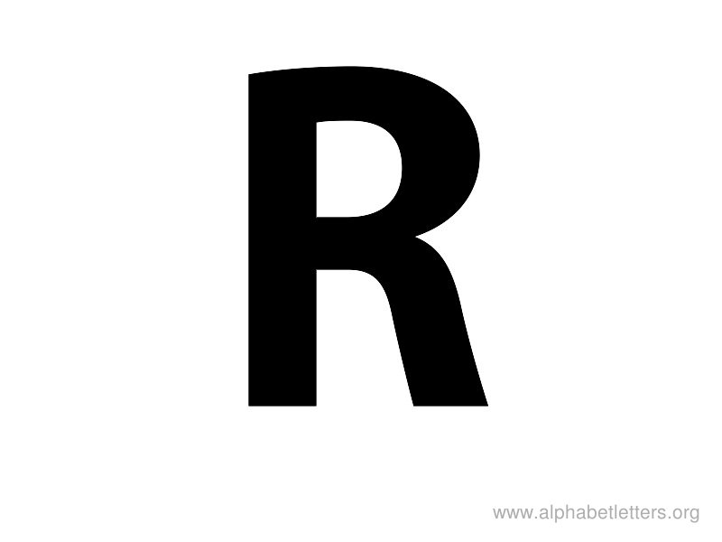 R Alphabet Images R Is The Letter...
