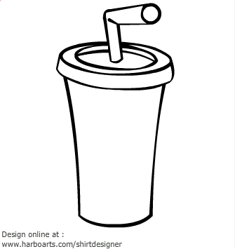 Black And White Soda Clip Art - ClipArt Best