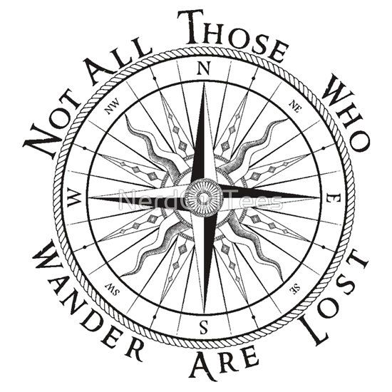 Compass Tattoo Line Drawing : Line drawing compass clipart best