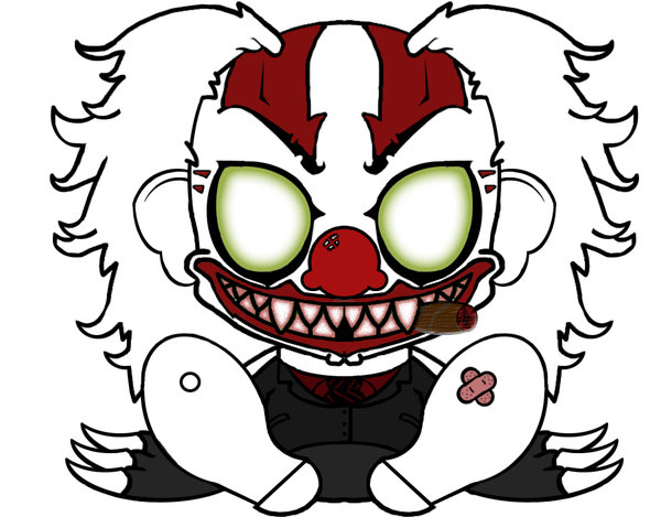 Scary Clown Drawing: Scary Clown Faces