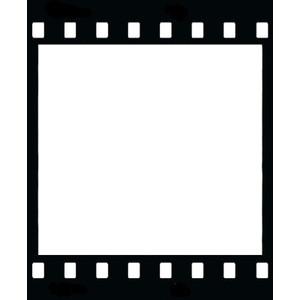 film reel picture frame clip art at clker com vector clip art