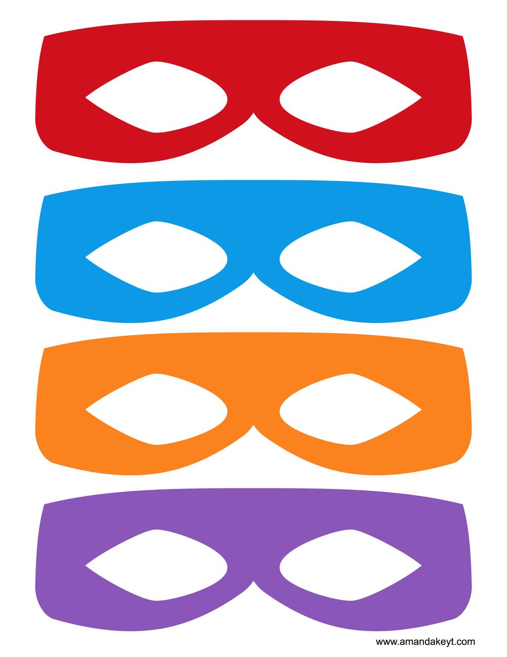 Ninja Turtle Printable Mask Clipart Best
